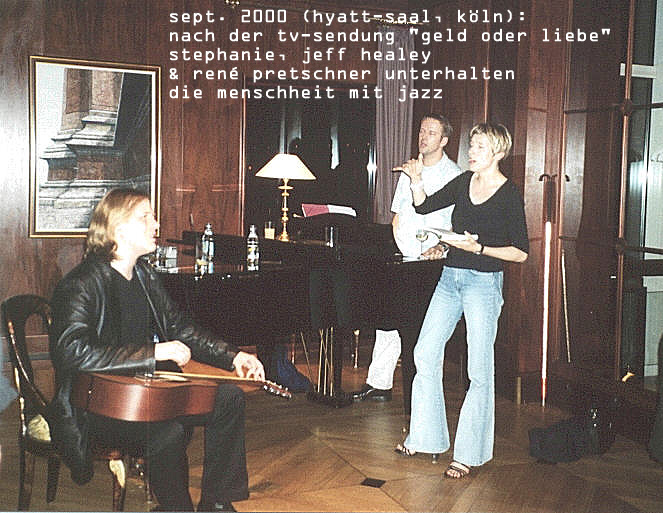 SP mit Jeff Healey