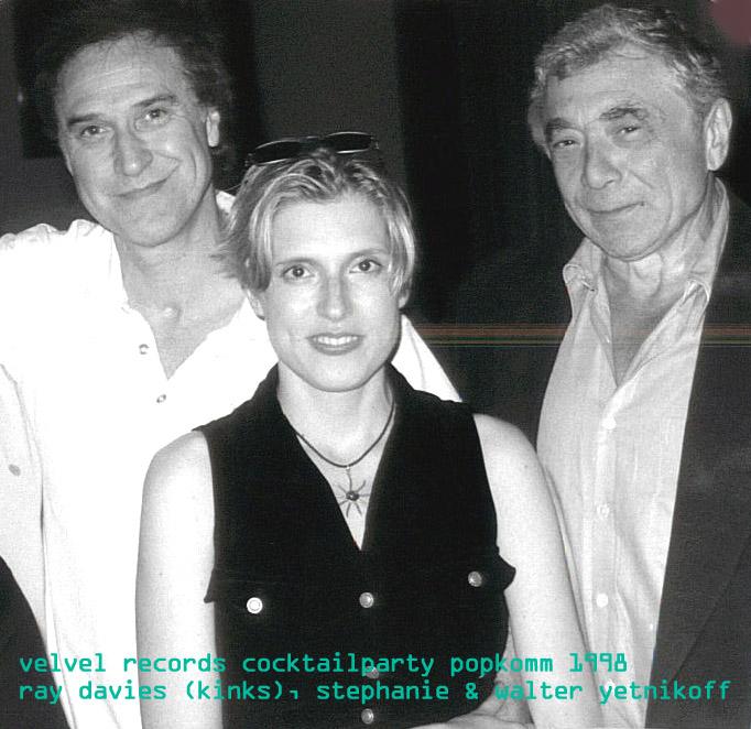 SP mit Ray Davies (The Kinks)